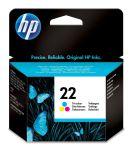 HP 22 drie-kleuren inktcartridge / 165 afdrukken