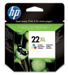 HP 22XL drie-kleuren inktcartridge / 415 afdrukken