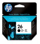 HP 26 zwarte inktcartridge / ~ 800 pag.