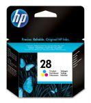 HP 28 drie-kleuren inktcartridge / 240 afdrukken