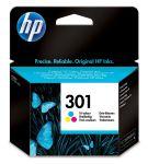 HP 301 drie-kleuren inktcartridge / 165 afdrukken
