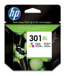 HP 301XL drie-kleuren inktcartridge / 330 afdrukken