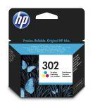 HP 302 drie-kleuren inktcartridge / 165 afdrukken