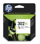 HP 302XL drie-kleuren inktcartridge / 330 afdrukken