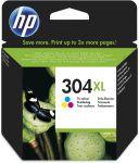HP 304XL drie-kleuren inktcartridge / 300 afdrukken