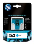 HP 363 cyaan inktcartridge / ~ 400 pag.