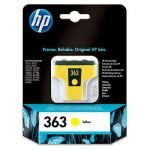 HP 363 gele inktcartridge / ~ 500 pag.