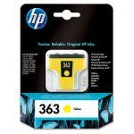 HP 363 gele inktcartridge / 500 afdrukken