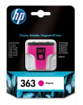 HP 363 magenta inktcartridge / ~ 370 pag.