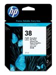 HP 38 foto zwarte inktcartridge