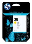HP 38 gele inktcartridge