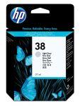 HP 38 licht grijze inktcartridge