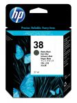 HP 38 mat zwarte inktcartridge