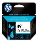 HP 49 drie-kleuren inktcartridge