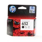 HP 652 zwarte inktcartridge / 360 afdrukken