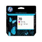 HP 70 magenta + gele printkop