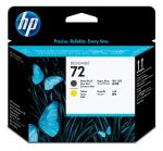 HP 72 matte black en gele printkop