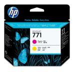 HP 771 magenta/gele Designjet printkop