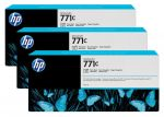 HP 771C zwarte Designjet fotoinktcartridge, 3-pack / 3x775 ml
