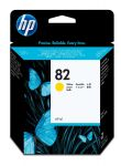 HP 82 gele inktcartridge 69ml