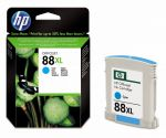 HP 88XL cyaan inktcartridge / 17.1ml - capaciteit 1.700 pagina's