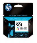 HP 901 drie-kleuren inktcartridge / ~ 360 pag.