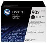 HP 90X zwarte toner 2-pack (CE390XD) / 2 x 24000 afdrukken