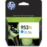 HP 953XL cyaan inktcartridge hoge capaciteit / 1600 afdrukken