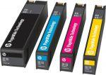 HP 973X inktcartridge set zwart / cyaan / magenta / geel
