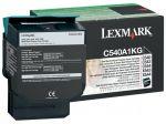 Lexmark C540A1KG toner zwart / capaciteit 1000 afdrukken