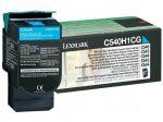 Lexmark C540H1CG toner cyaan / capaciteit 2000 afdrukken