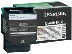Lexmark C540H1KG toner zwart / capaciteit 2500 afdrukken