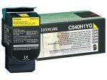 Lexmark C540H1YG toner geel / capaciteit 2000 afdrukken