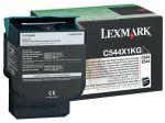 Lexmark C544X1KG toner zwart / 6000 afdrukken