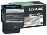Lexmark C546U1KG toner zwart / capaciteit 8000 afdrukken