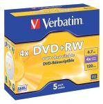 Verbatim DVD+RW / 4,7Gb / 4speed / jewelcase